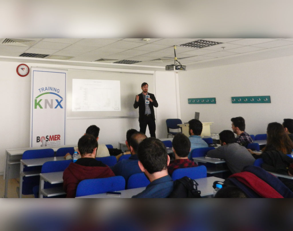 Training KNX, KNX training, ets5 education, training KNX
